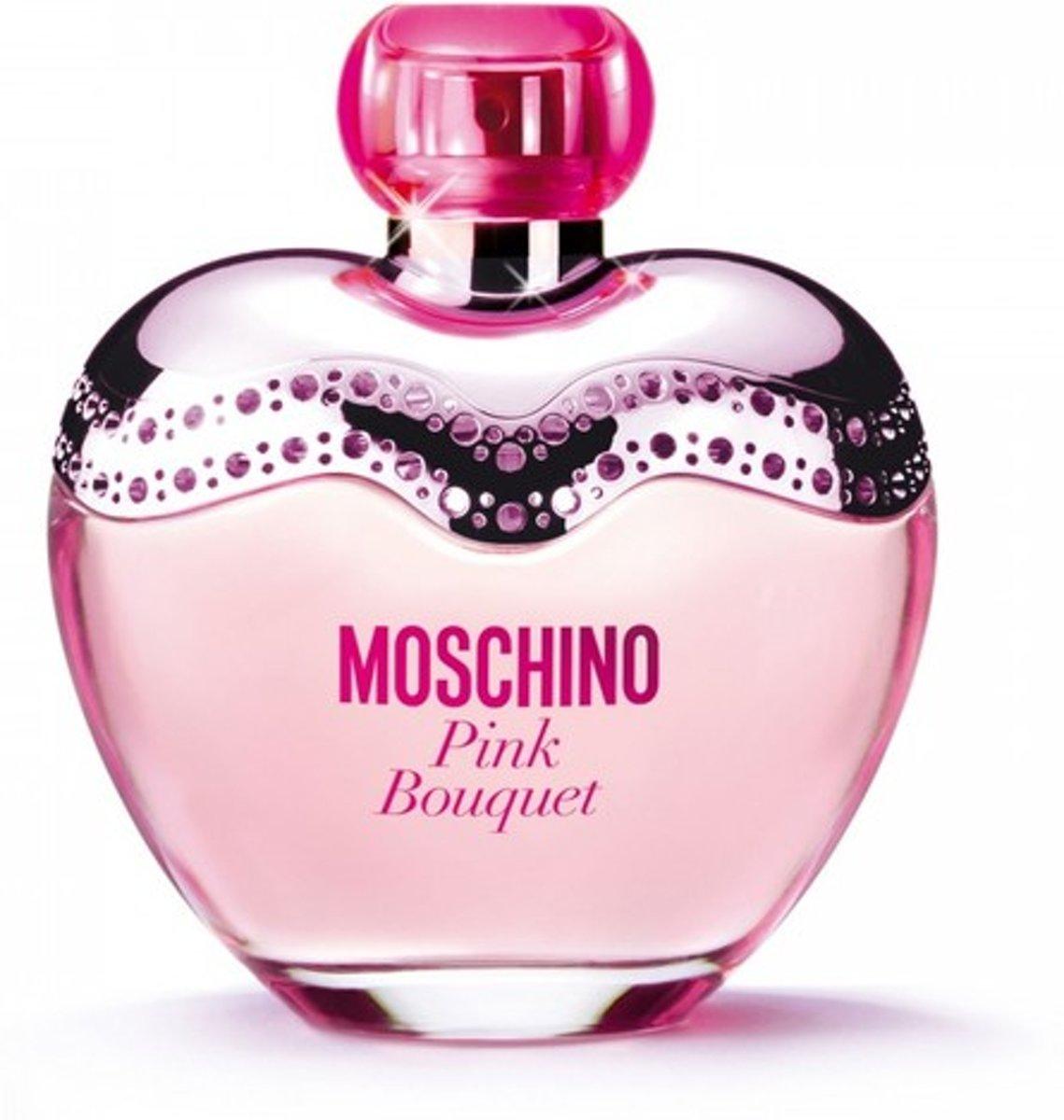 MULTI BUNDEL 2 stuks Moschino Pink Bouquet Eau De Toilette Spray 100ml kopen