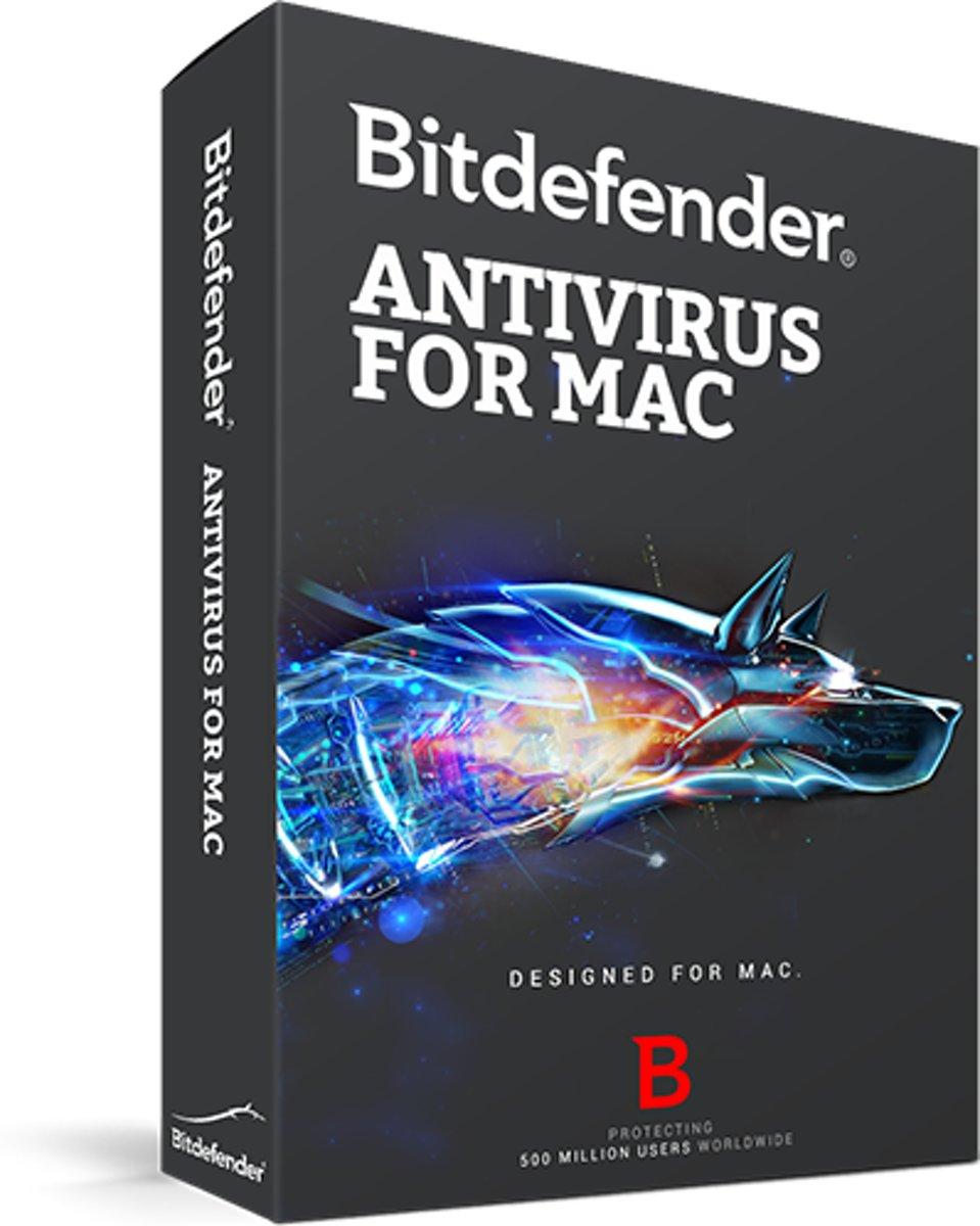 Bitdefender for Mac - 1 jaar, 3 computers kopen
