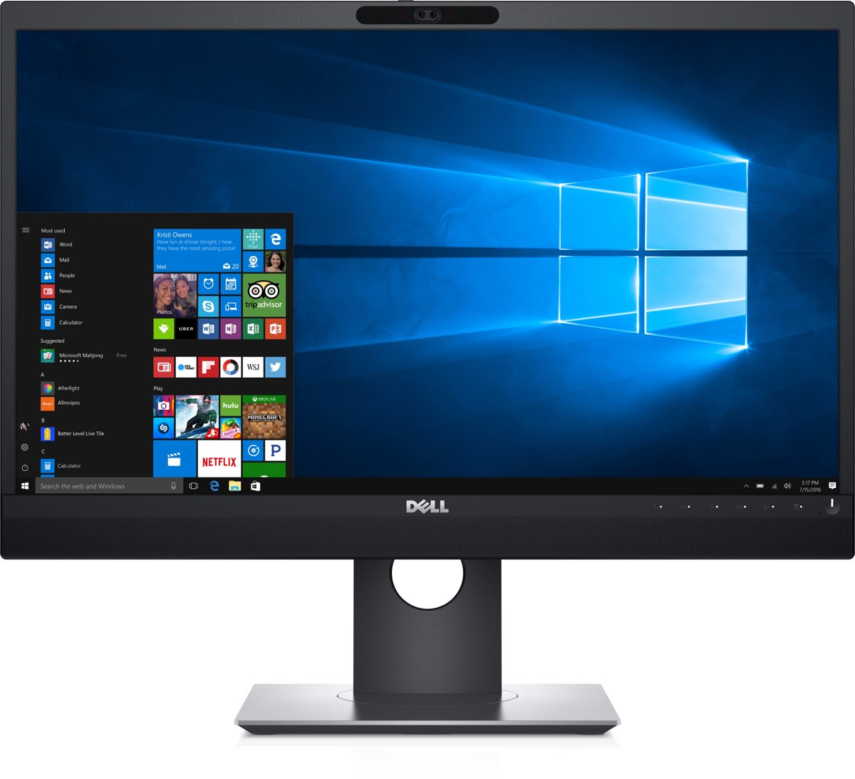 DELL P2418HZM LED display 60,5 cm (23.8'') Full HD Flat Zwart