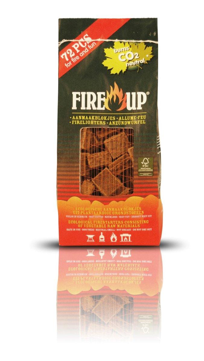 3 stuks Aanmaakblok bruin 72 stuks Fire Up kopen