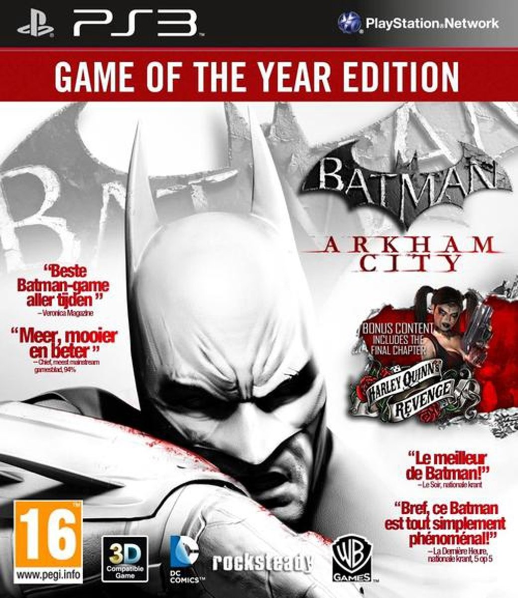 Batman: Arkham City - Game of the Year Edition /PS3 kopen