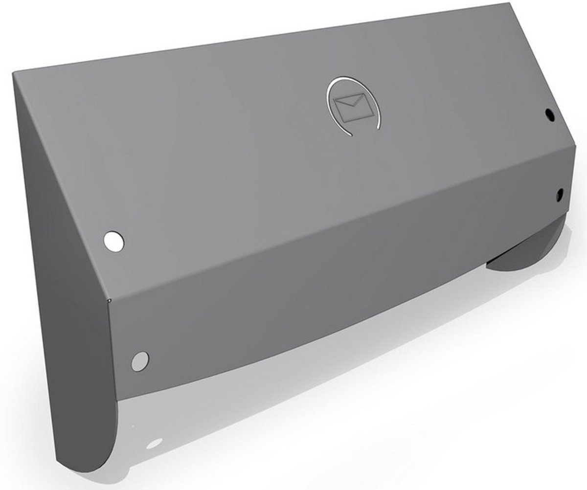 SecuMax brievenbusbeveiliging Plus zilvergrijs (Prijs per stuk)
