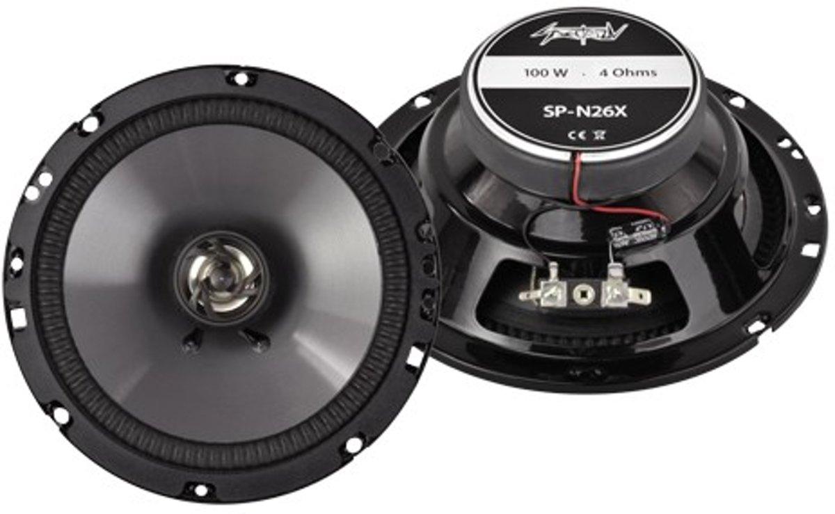 Spectron Speakerset SP-N26X 16,5CM 100 Watt kopen