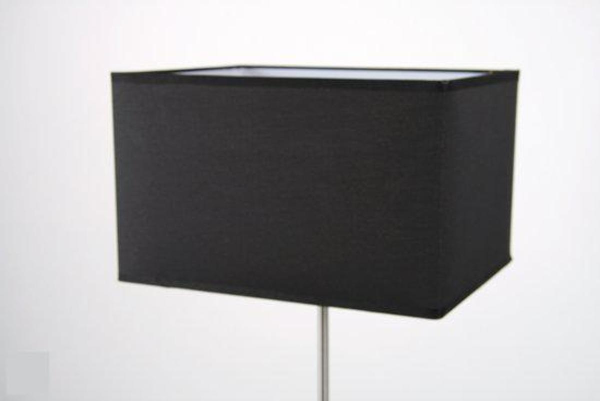 Bol.com chericoni box vloerlamp met kap zwart
