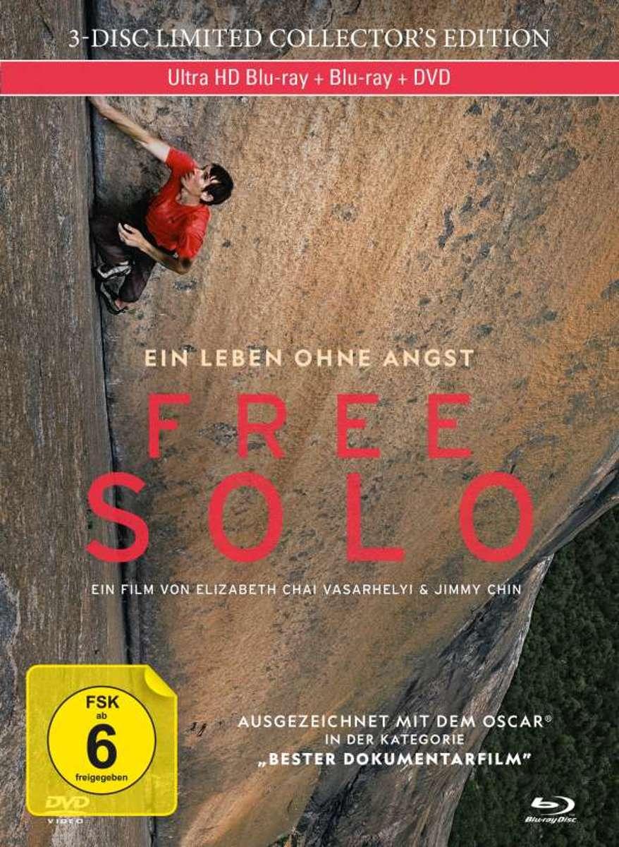 Free Solo (Ultra HD Blu-ray, Blu-ray & DVD in Mediabook)-