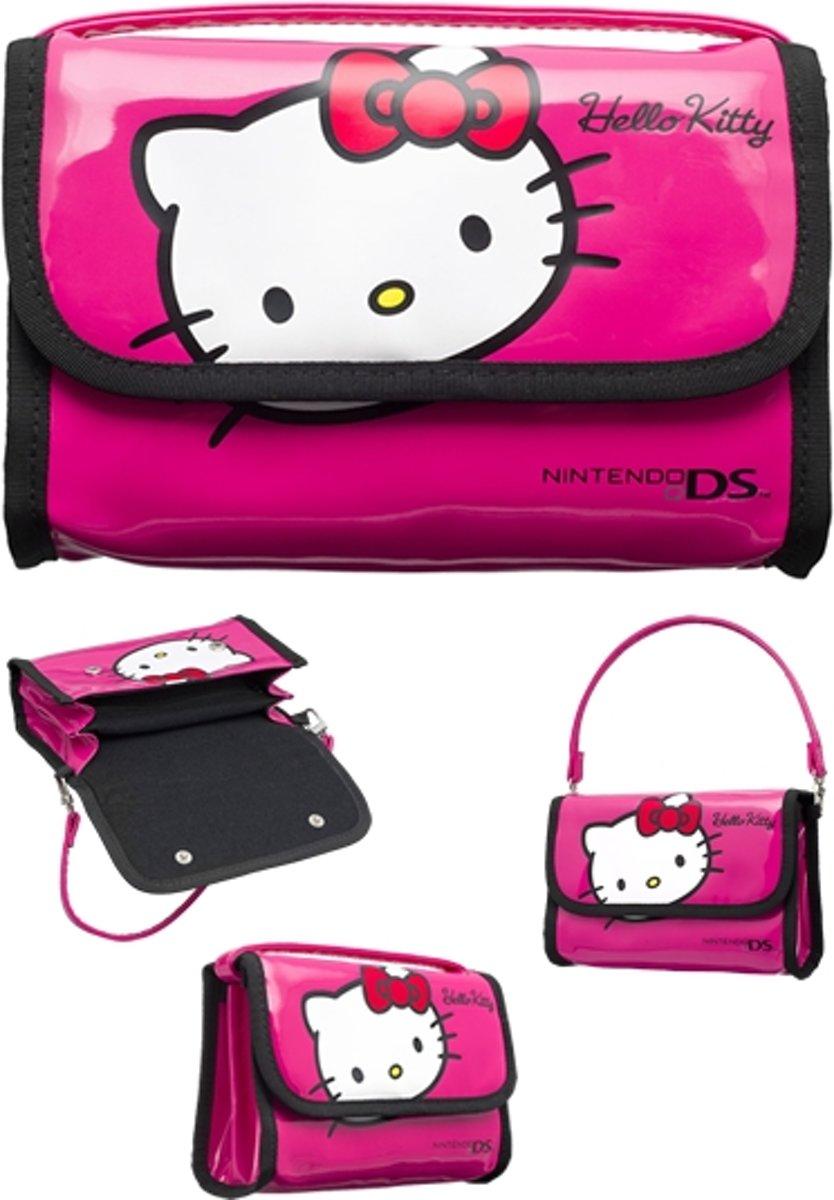 Bigben Hello Kitty Opbergtas Roze DS Lite + DSi + DSi XL + 3DS + 3DS XL kopen