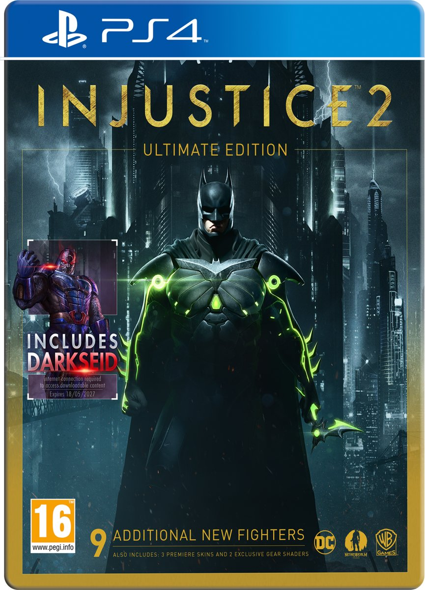 Injustice 2 - Ultimate Edition PlayStation 4