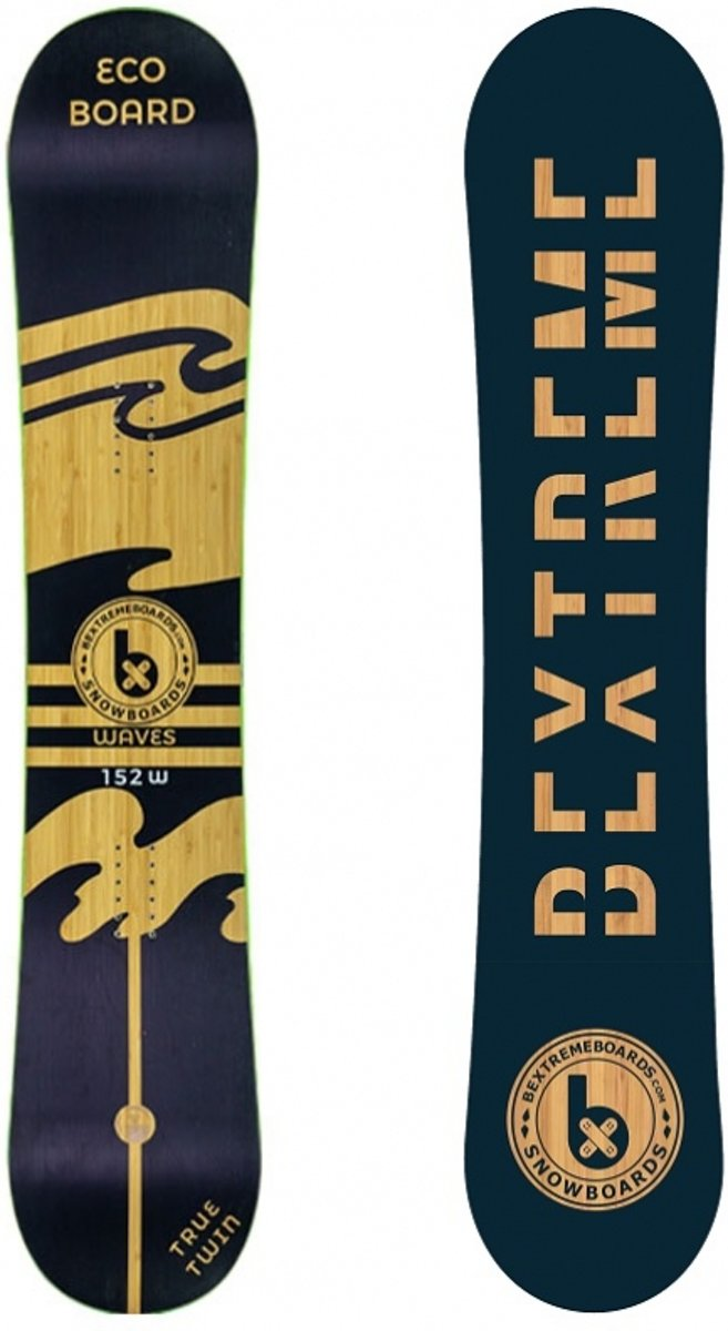 BeXtreme Waves Snowboard - All Mountain - 157 cm (wide) kopen