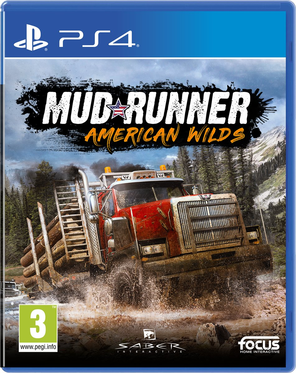 Spintires: MudRunner American Wilds Edition PlayStation 4