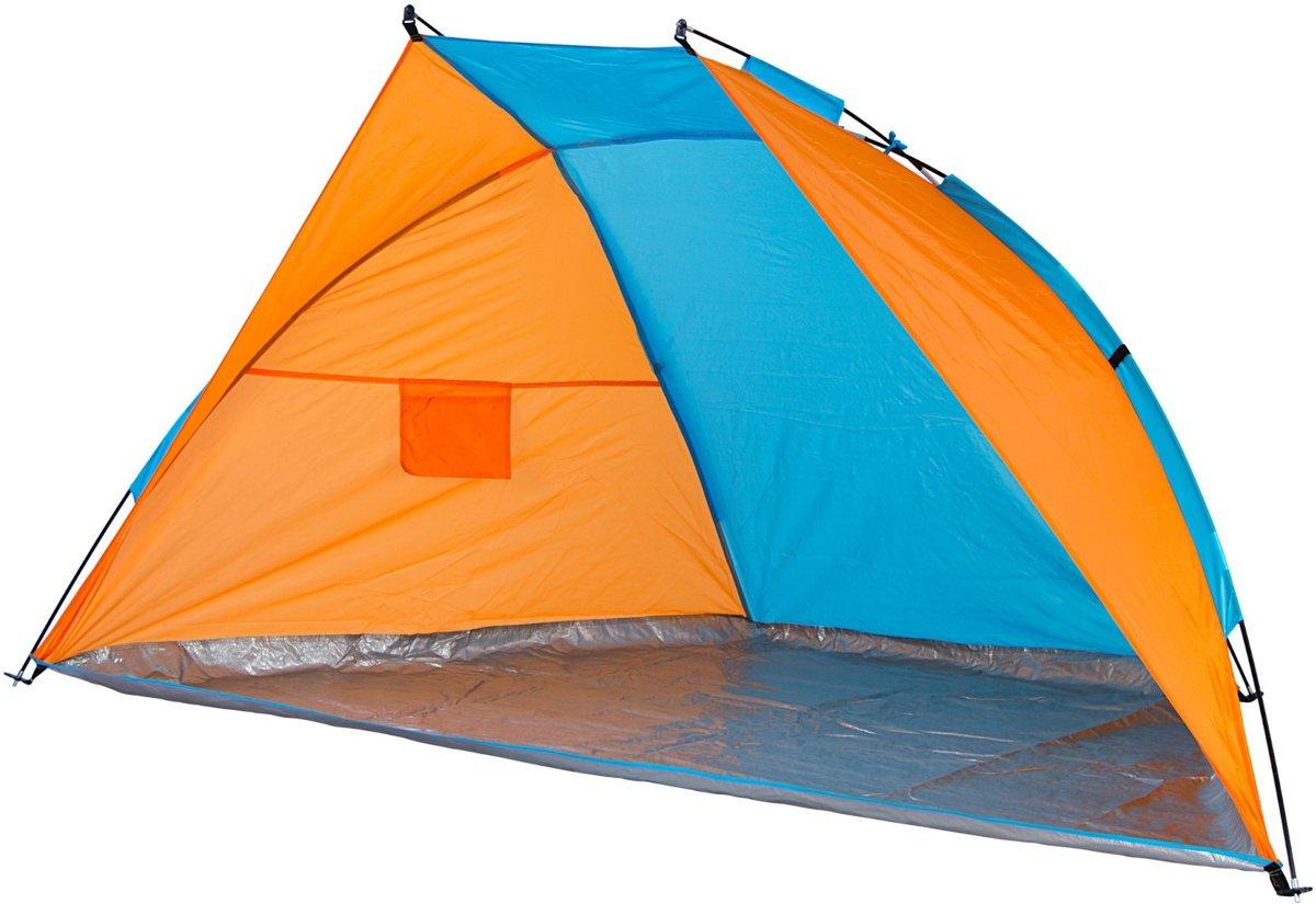 Abbey Strandtent Bulwark - Oranje/Blauw kopen