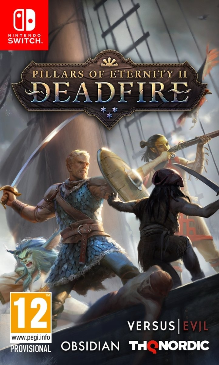 Pillars of Eternity 2: Deadfire Switch