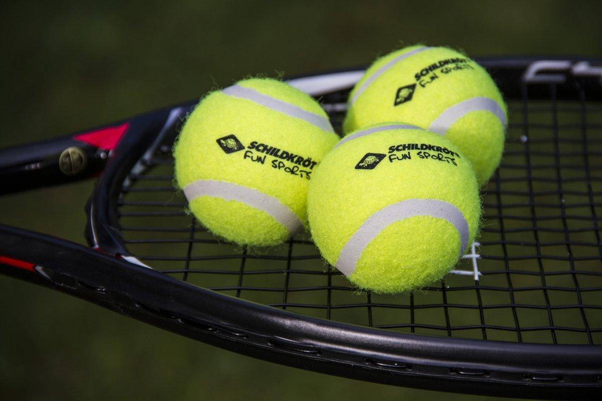 Donic Schildkröt Tennisballen Geel 3 Stuks kopen