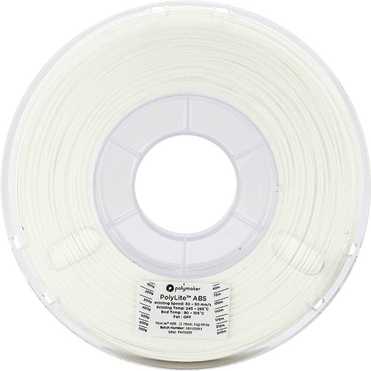Polymaker PolyLite ABS White 1kg kopen