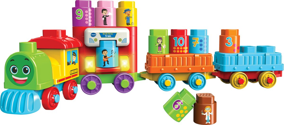 Bla Bla Blocks - Trein