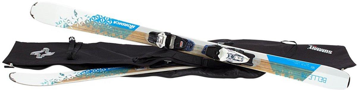 Waterafstotende skitas medium 160x34x26 cm - Lengte 160 cm - Ideaal voor op Wintersport kopen