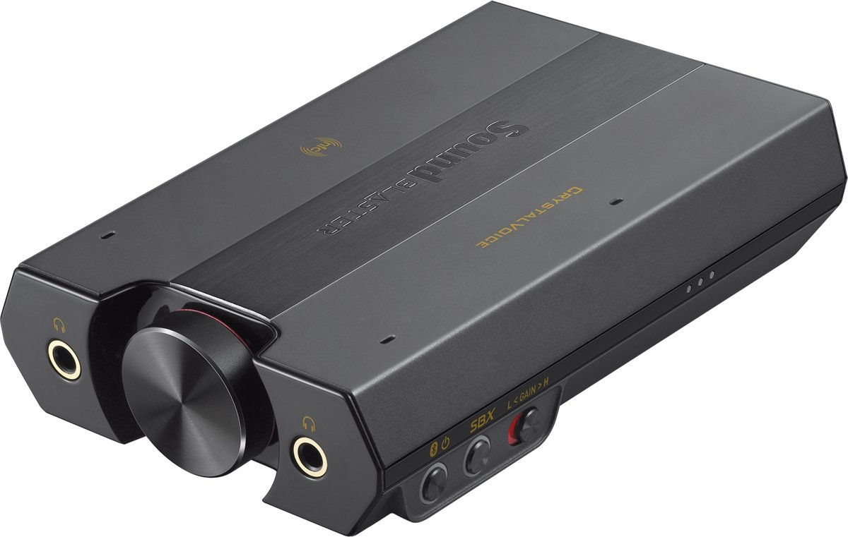 Creative Sound Blaster E5 USB - Geluidskaart - Zwart kopen