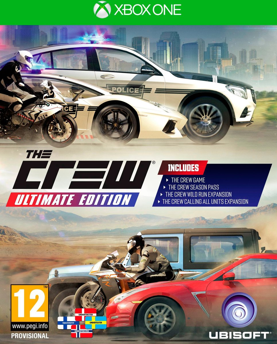 The Crew: Ultimate Edition Xbox One