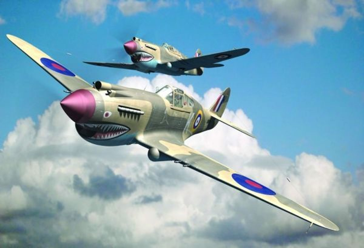 Planes / Helicopter Curtis P-40 B Warhawk