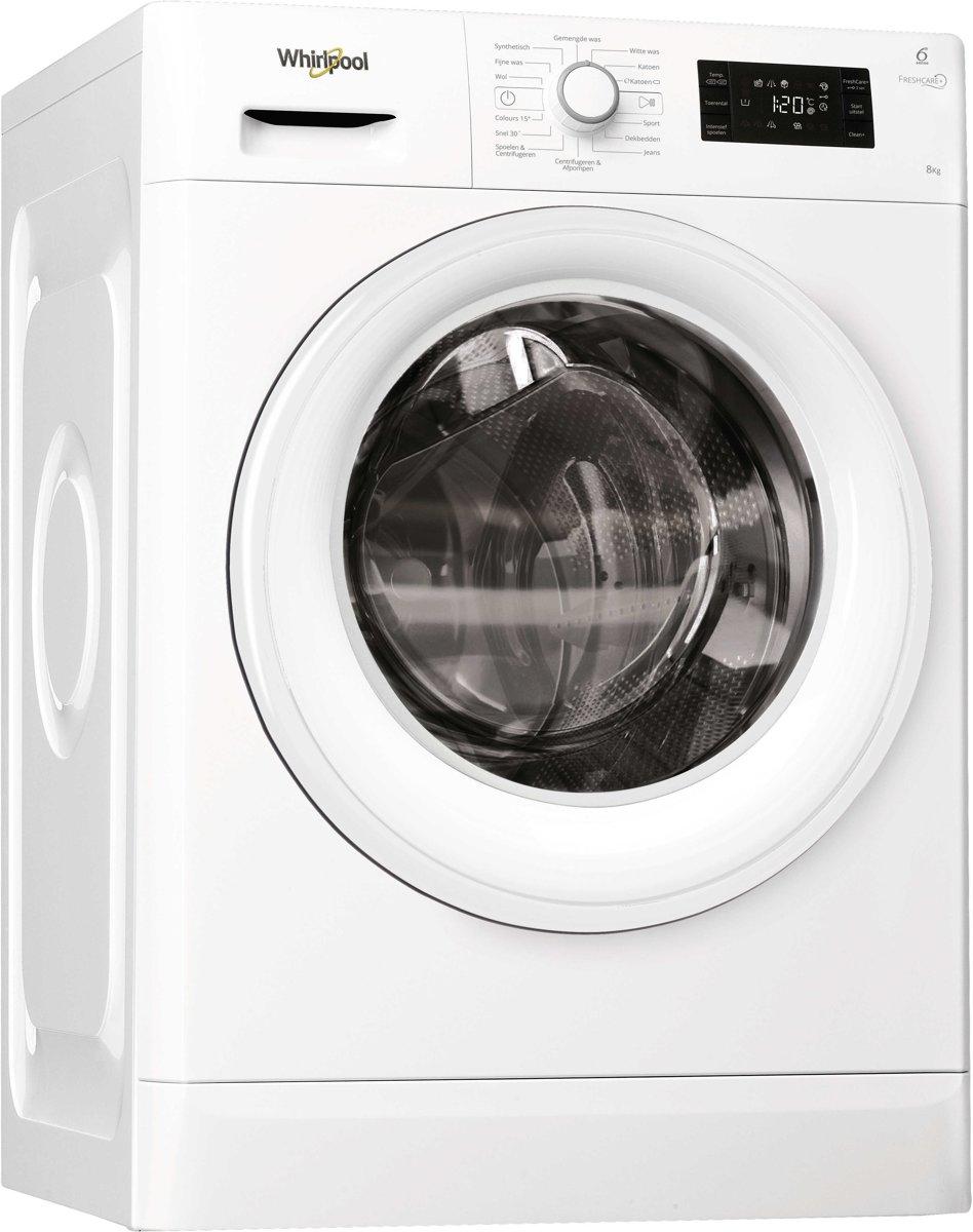 Whirlpool FWG81484WE NL - Wasmachine - Freshcare