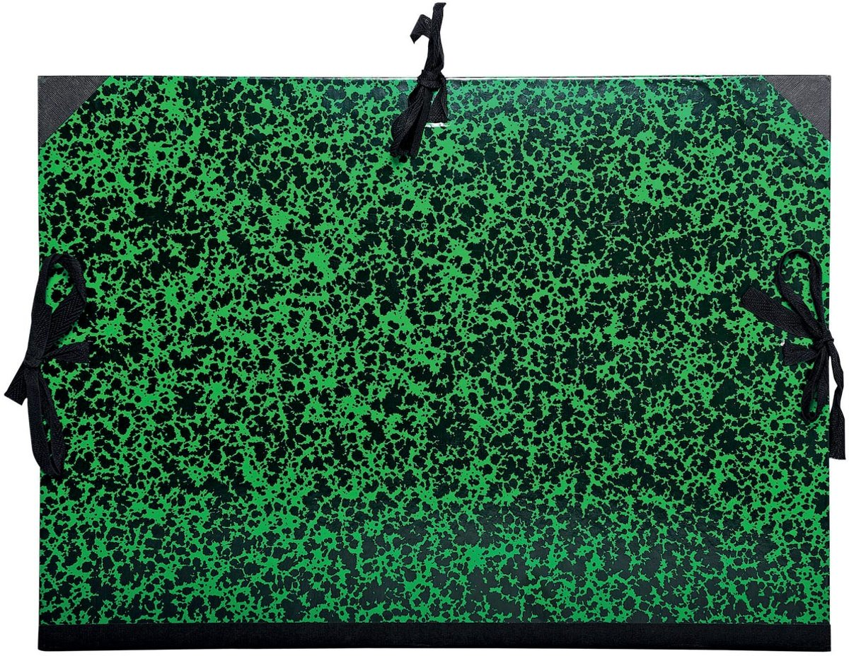 6x Exacompta tekenmap met linten 37x52cm (A3) kopen