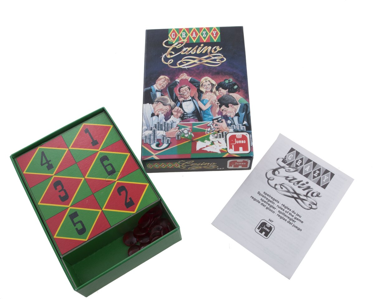 Gezelschapsspel Crazy Casino - MB