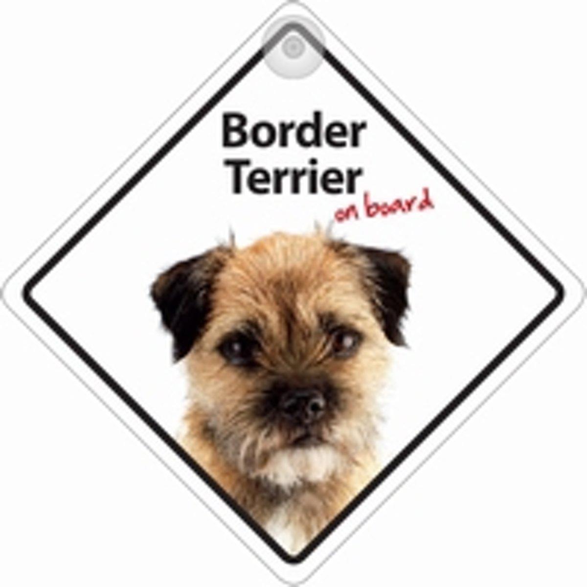 Border Terrier On Board kopen