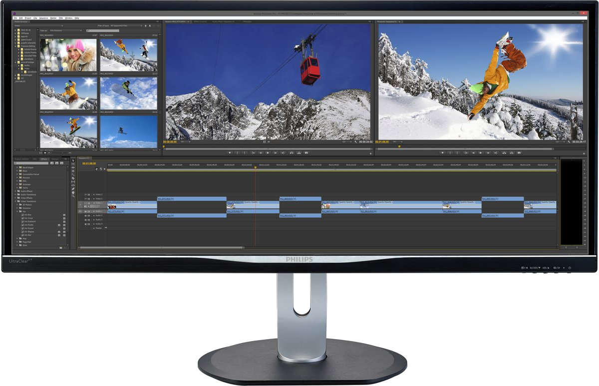 Philips BDM3470UP -  34 inch UltraWide Quad HD IPS Monitor kopen