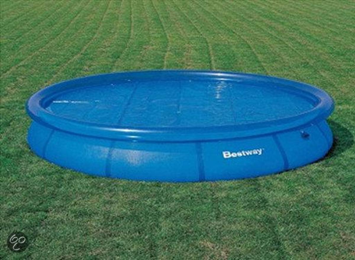 Bestway Solar Afdekzeil 300cm - voor fast set pool.