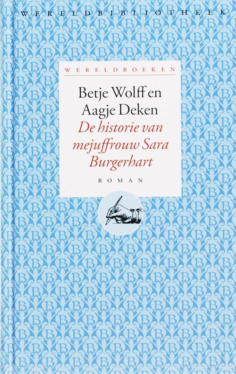 bol.com | Wereldboeken 1 - De historie van mejuffrouw Sara ...