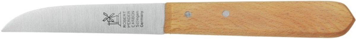 Robert Herder Molenmes Schilmes - Carbon lemmet - Houten handvat - 8,5 cm kopen