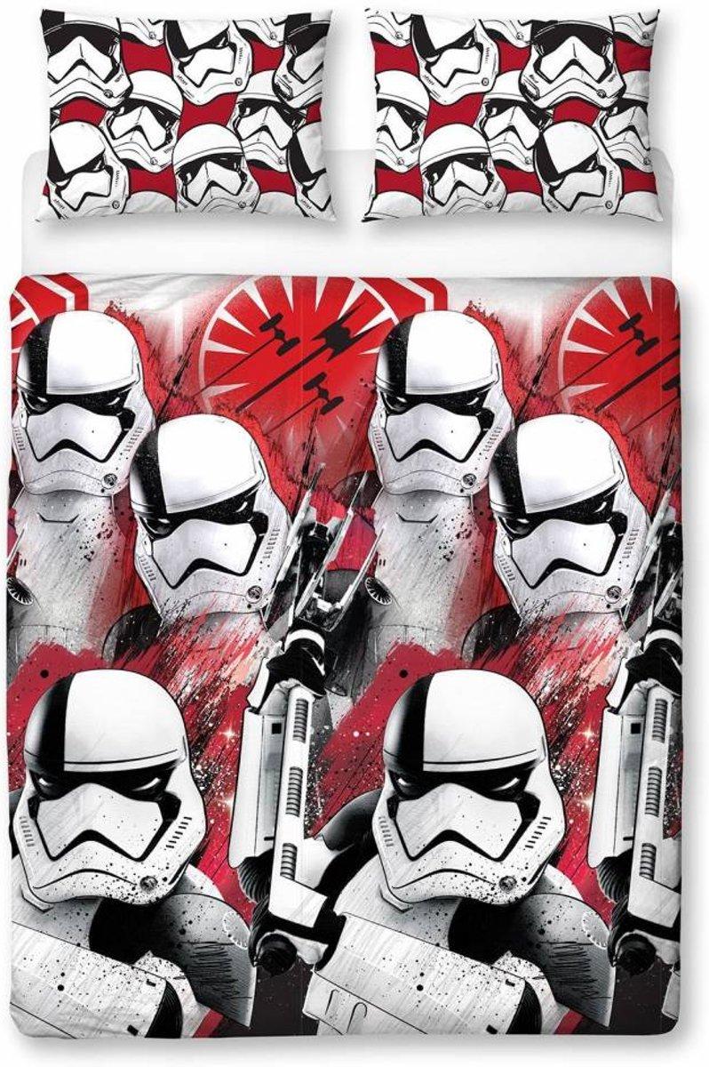 Star Wars VIII Trooper - Tweepersoons - 200 x 200 cm - Multi kopen