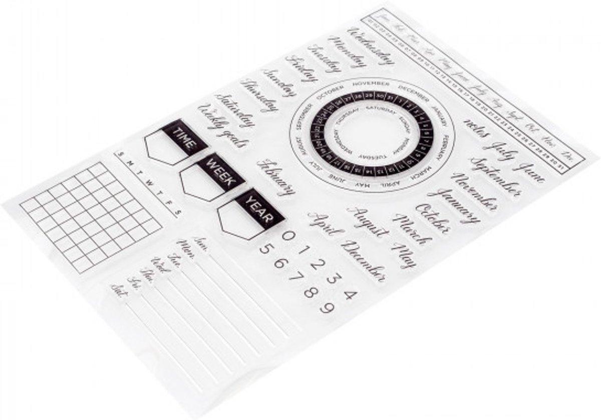 Afbeelding van product Kelly Creates stamps calendar