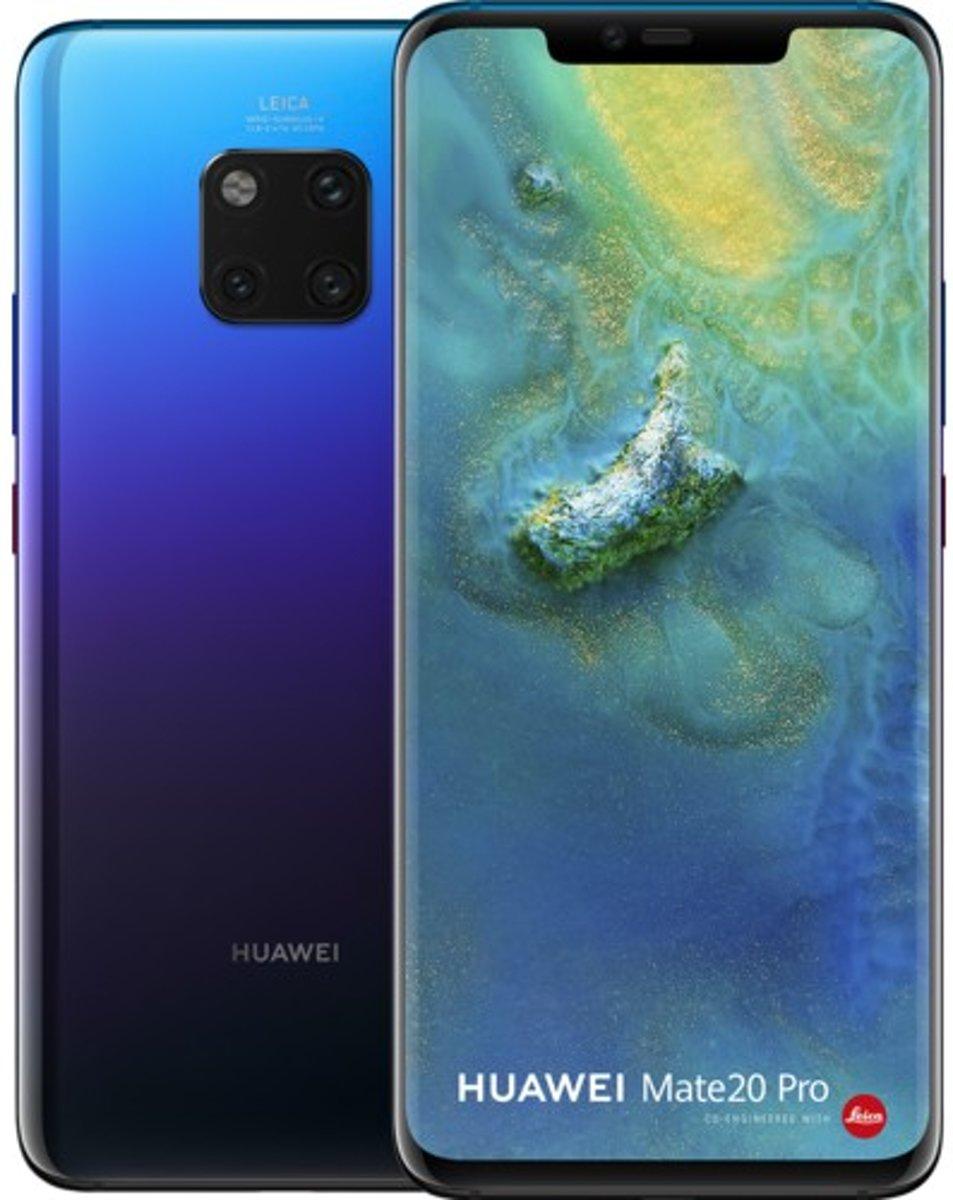 Huawei Mate 20 Pro 16,2 cm (6.39'') 6 GB 128 GB Hybride Dual SIM 4G Paars 4200 mAh kopen