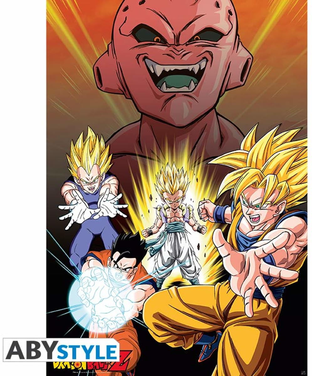 Dragon Ball Z Poster Buu Vs Saiyans