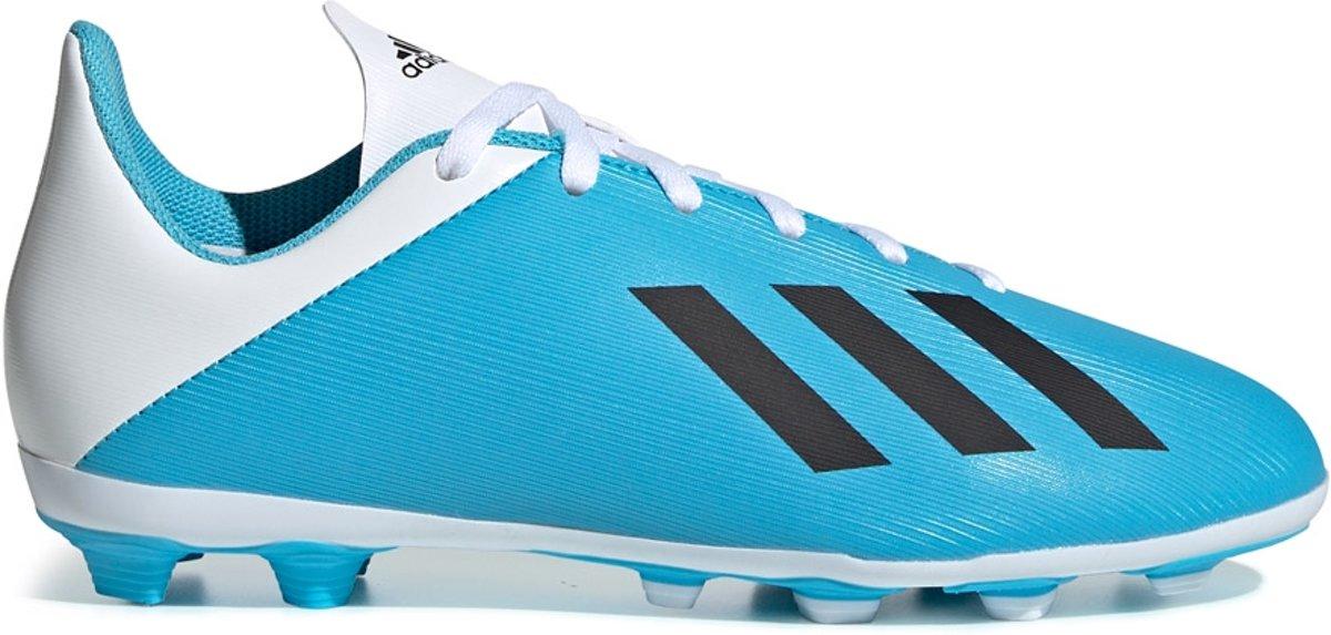 Adidas X 19.4 FxG Jr Voetbalschoenen GrasKunstgras (FGAG) blauw licht 36 23