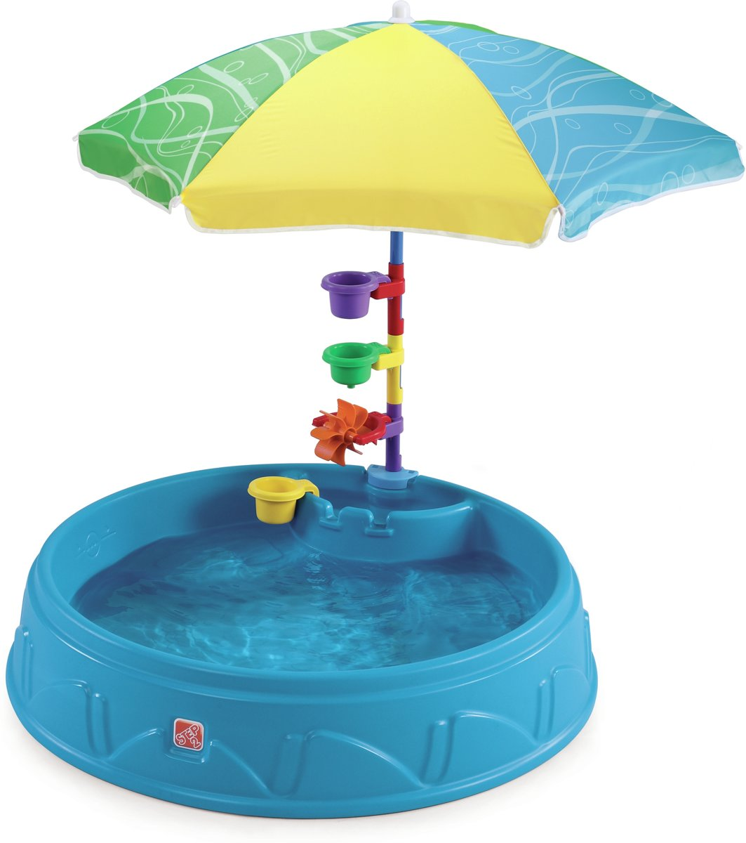 Step2 Play and Shade - Zwembad met Parasol en Accessoires