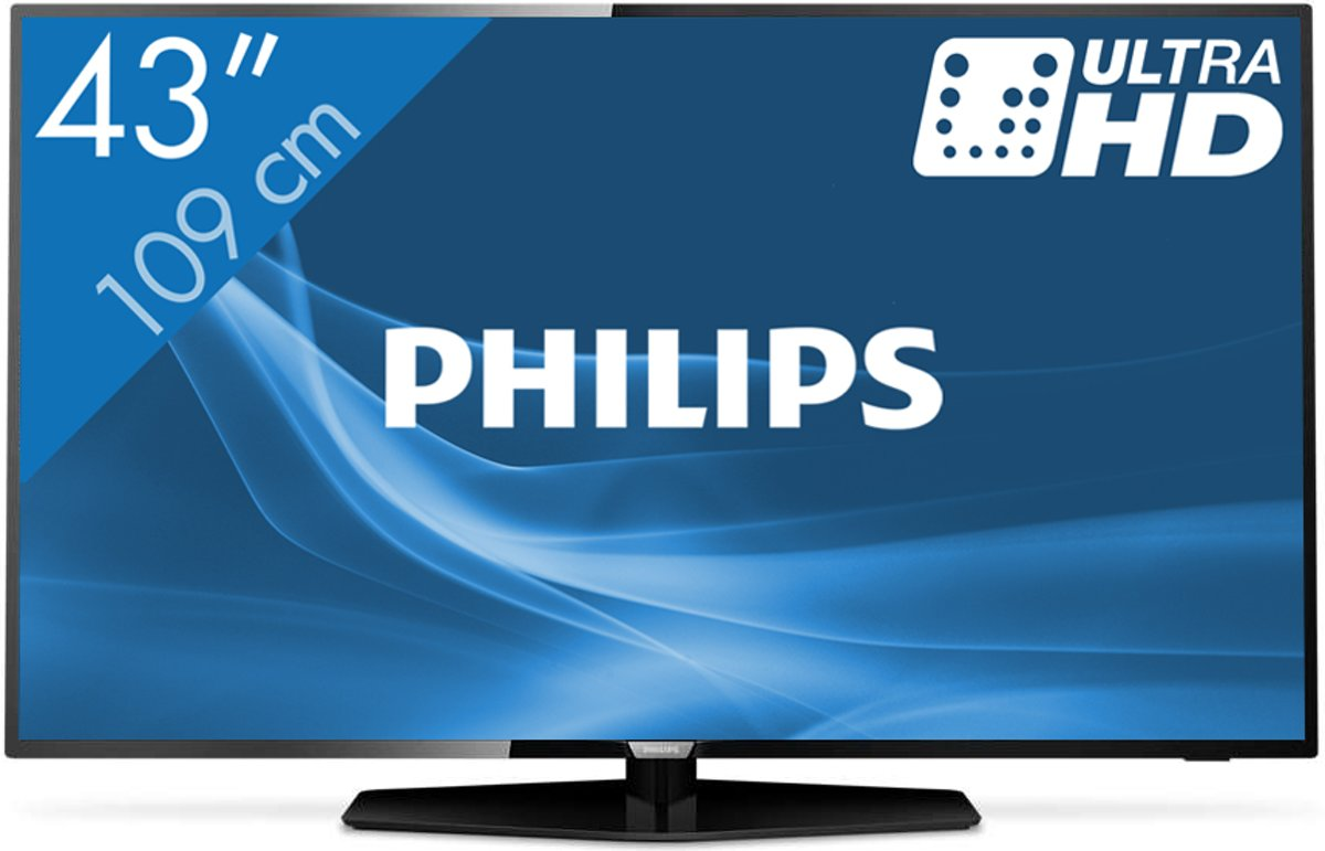 Philips 43PUS6162/12 - 4K tv voor €361,79