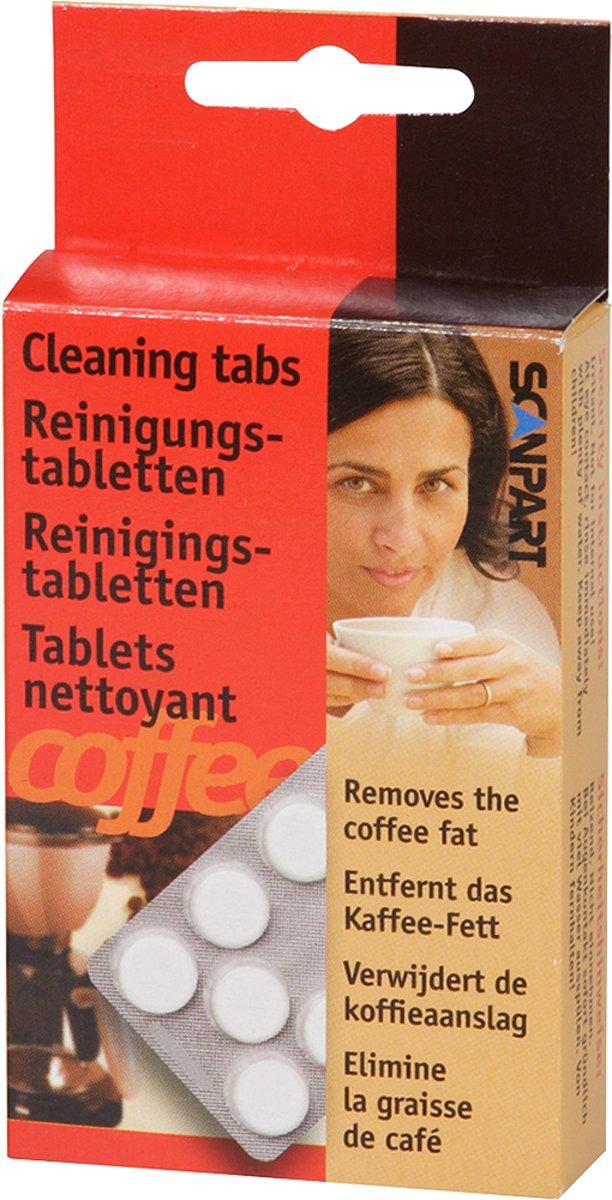Scanpart reinigingstabletten voor koffiezetapparaten 10 stuk kopen