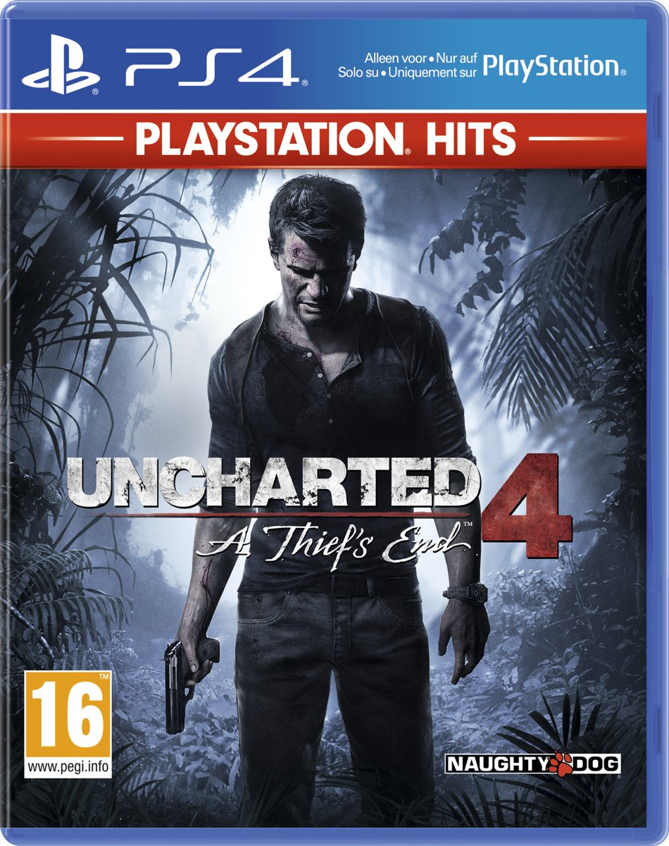 Uncharted 4: A Thief's End - PlayStation Hits PlayStation 4