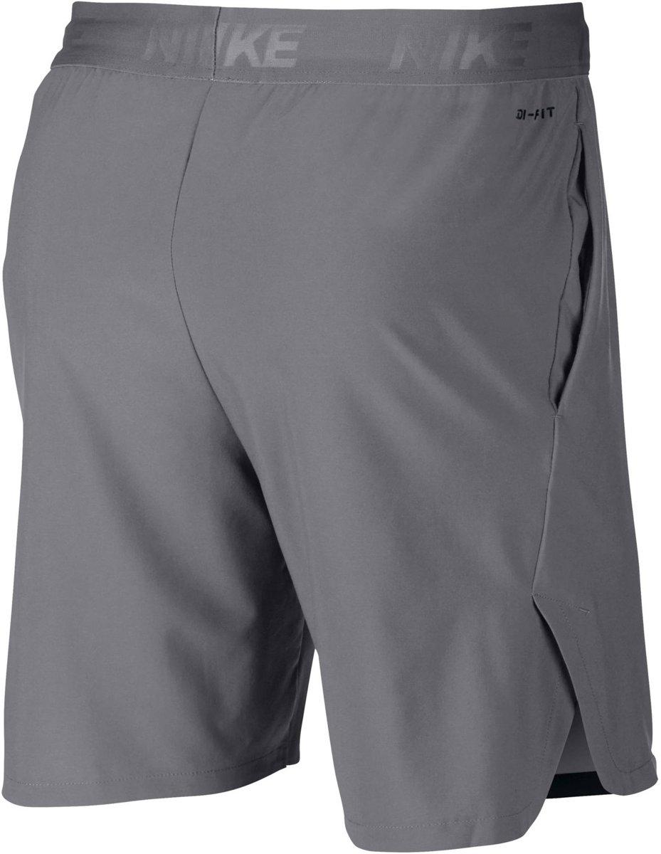 9ff11f577 bol.com   Nike Flex Short Vent Max 2.0 Sportshort Heren - Grijs