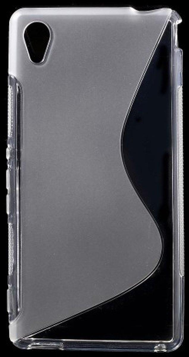 Image of Mesh - Sony Xperia M4 Aqua Hoesje - Zachte Back Case S Shape Transparant (8718923062198)