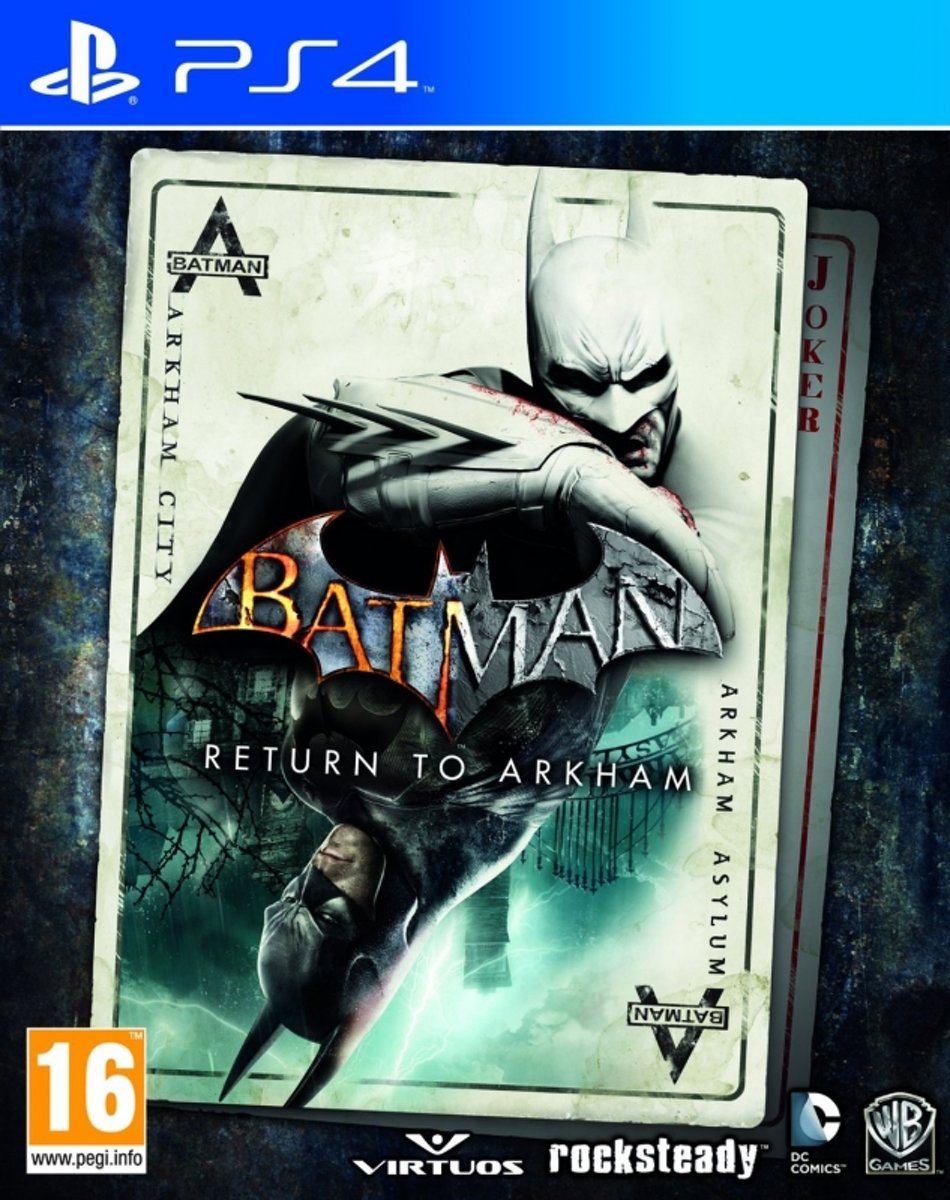 Batman: Return to Arkham - PS4 kopen