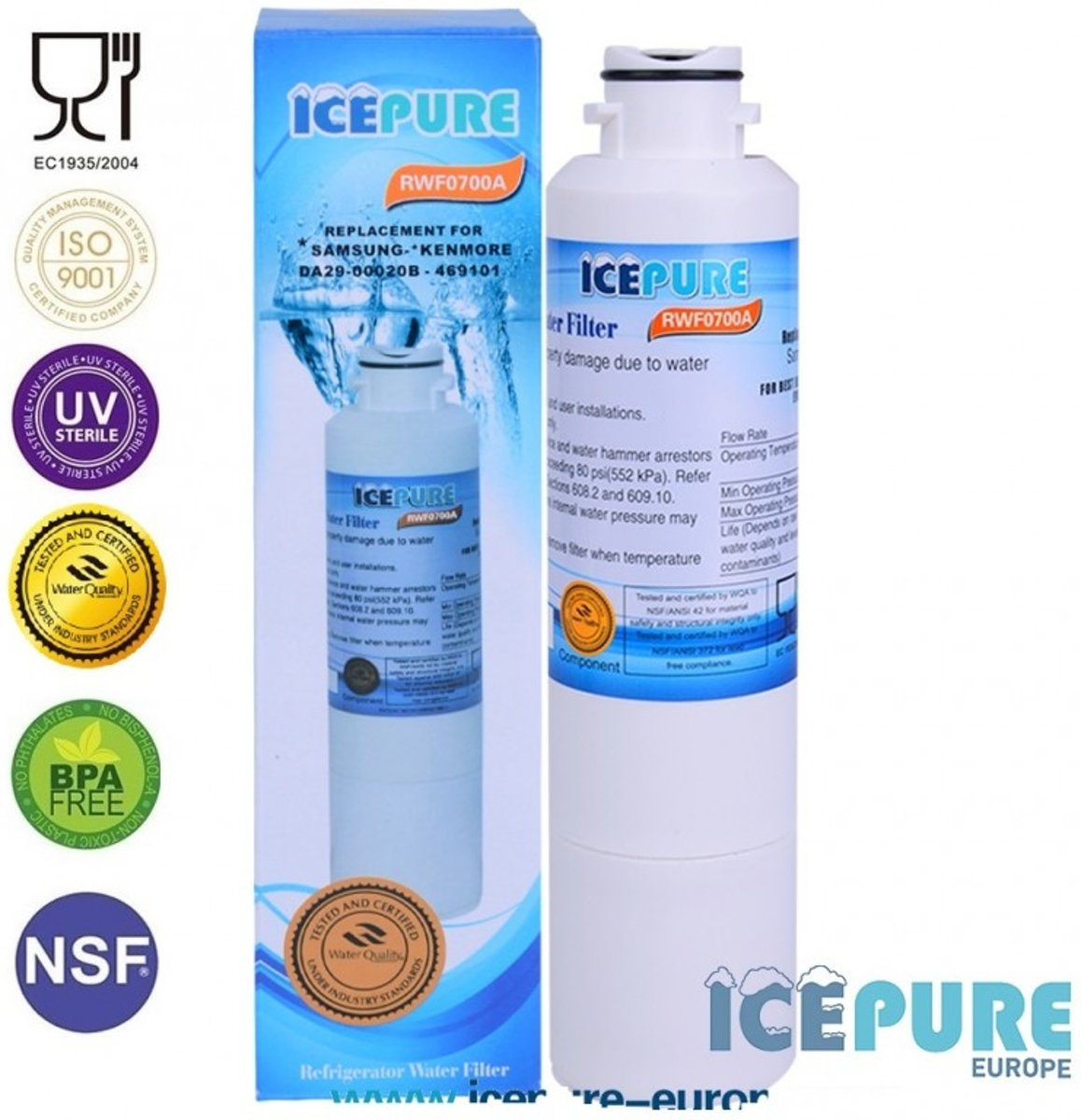 Samsung DA29-00020B Waterfilter van Icepure RWF0700A kopen