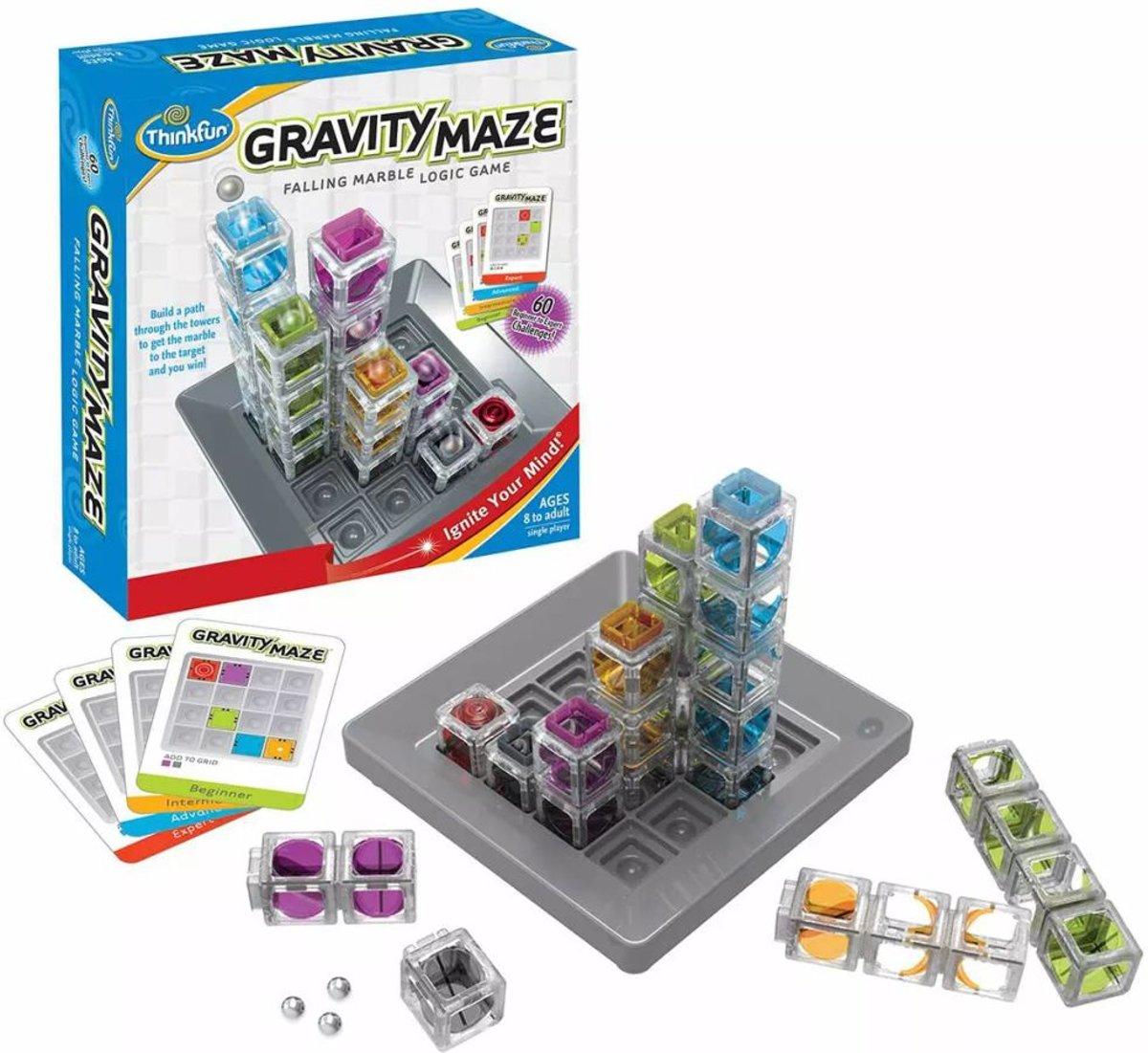 Gravity Maze Breinbreker Thinkfun Speelgoed Circuit