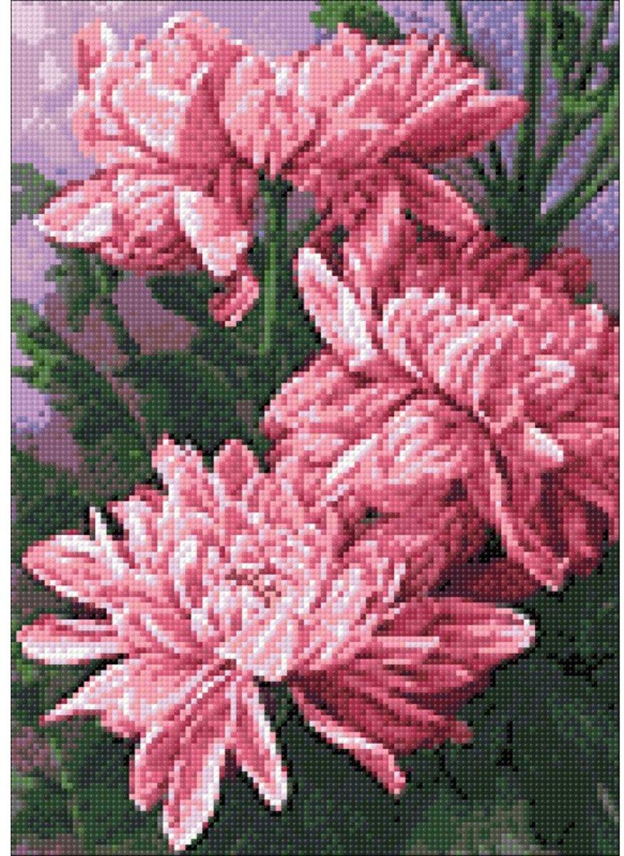 Afbeelding van product Wizardi Diamond Painting Kit Daisies WD025