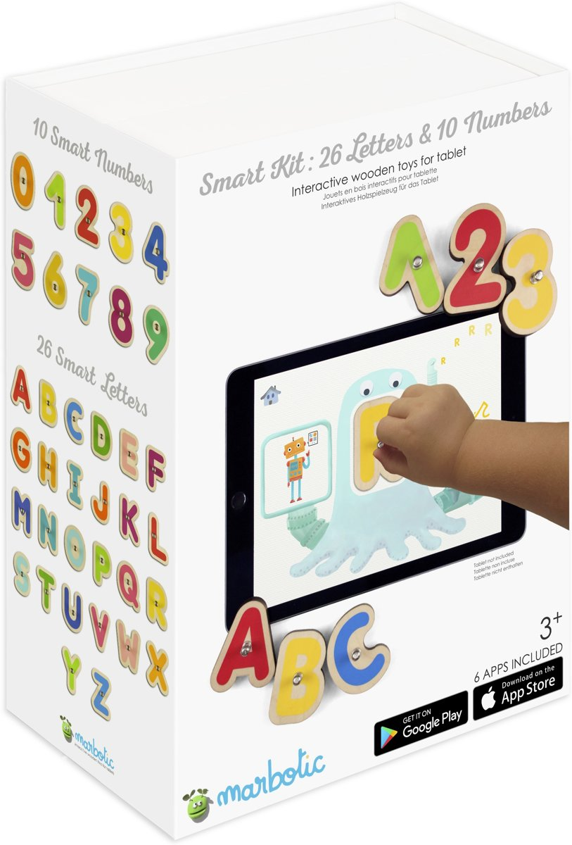 Marbotic | Smart Letters & Numbers (Bundel) kopen