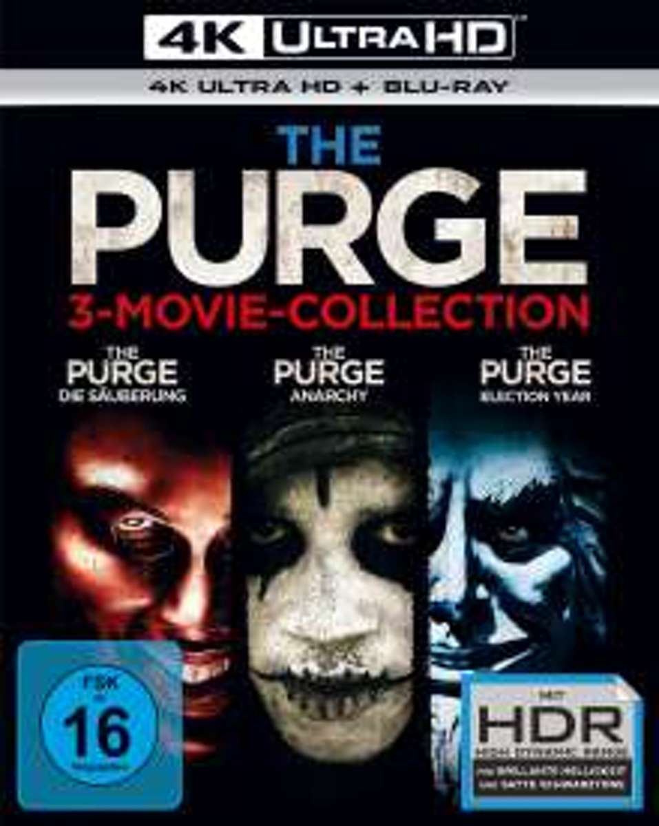 The Purge Trilogy (Ultra HD Blu-ray & Blu-ray)-