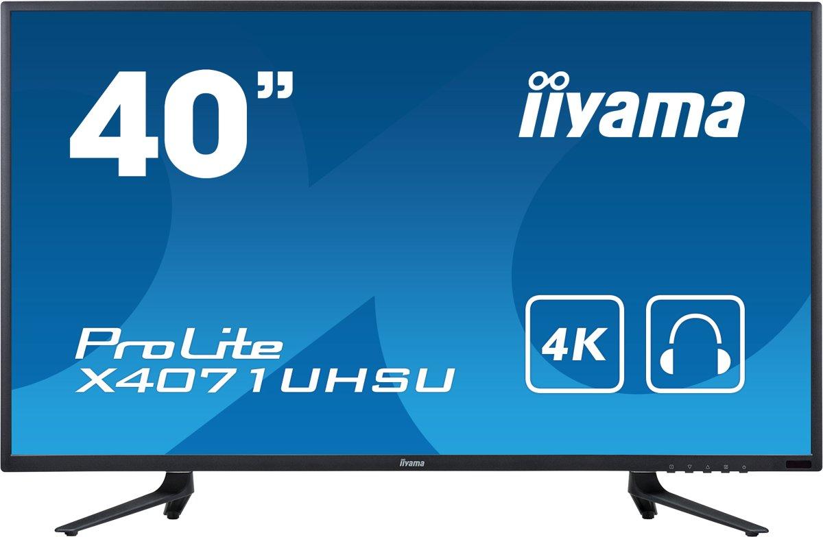 Iiyama ProLite X4071UHSU-B1 - 4K Monitor kopen
