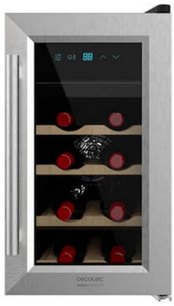 Wijnkoelkast Vrijstaand Luxe | 8 Flessen, 25 Liter | Flexibele temperatuurzones | Energielabel A+ | kopen
