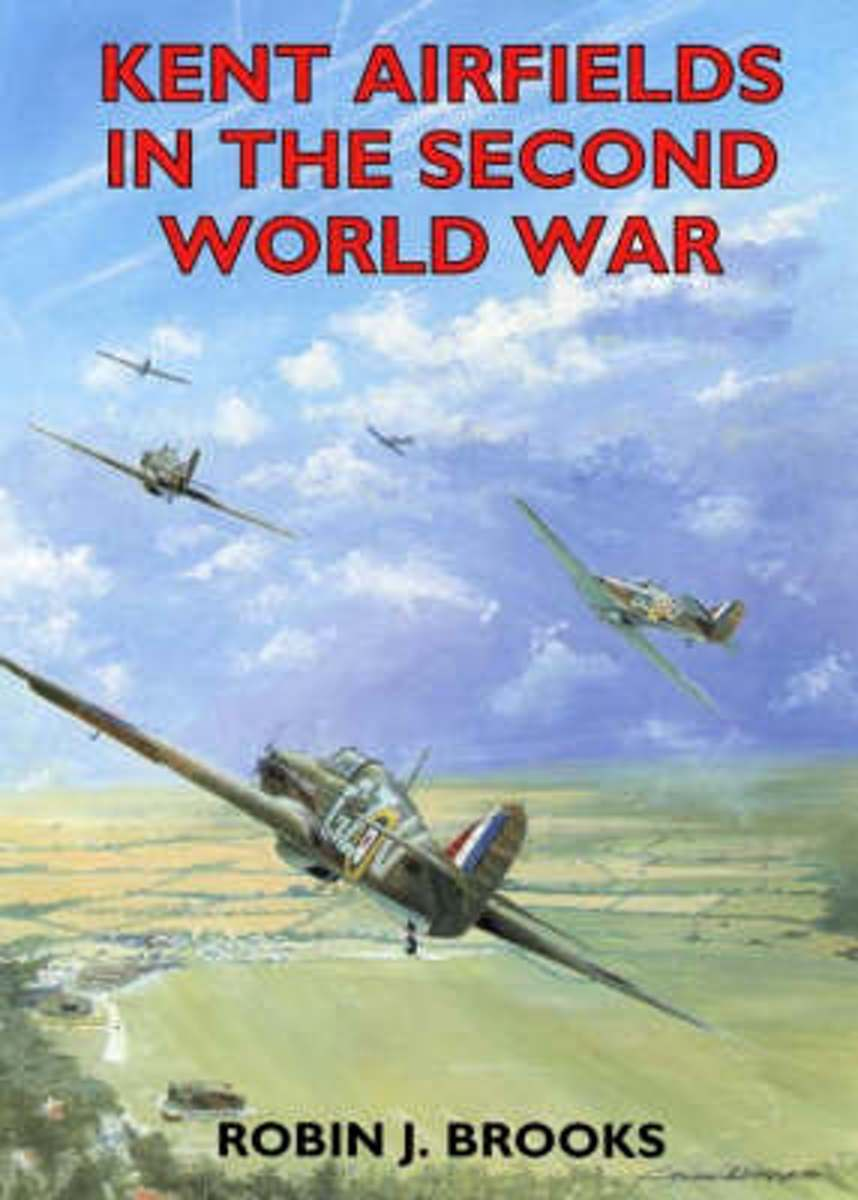 Afbeelding van product Kent Airfields in the Second World War  - Robin J. Brooks